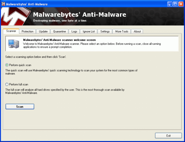 how to detect and remove malware
