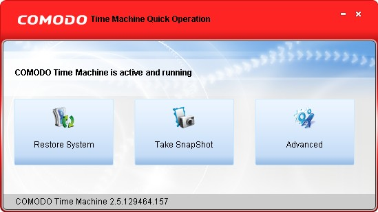 Comodo Time Machine
